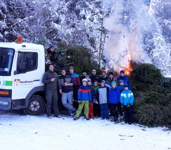 Weihnachtsbaumaktion 2017 – Ein voller Erfolg!!