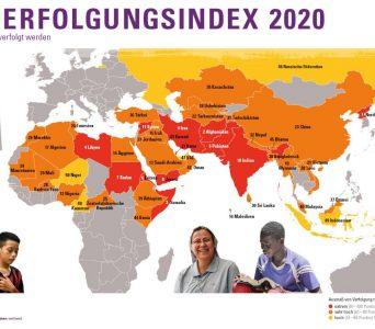 Weltverfolgungsindex 2020: Open Doors informiert